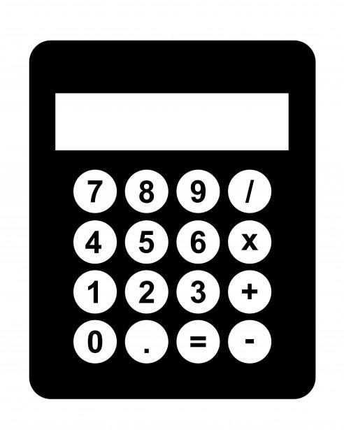 calculator-black-clipart