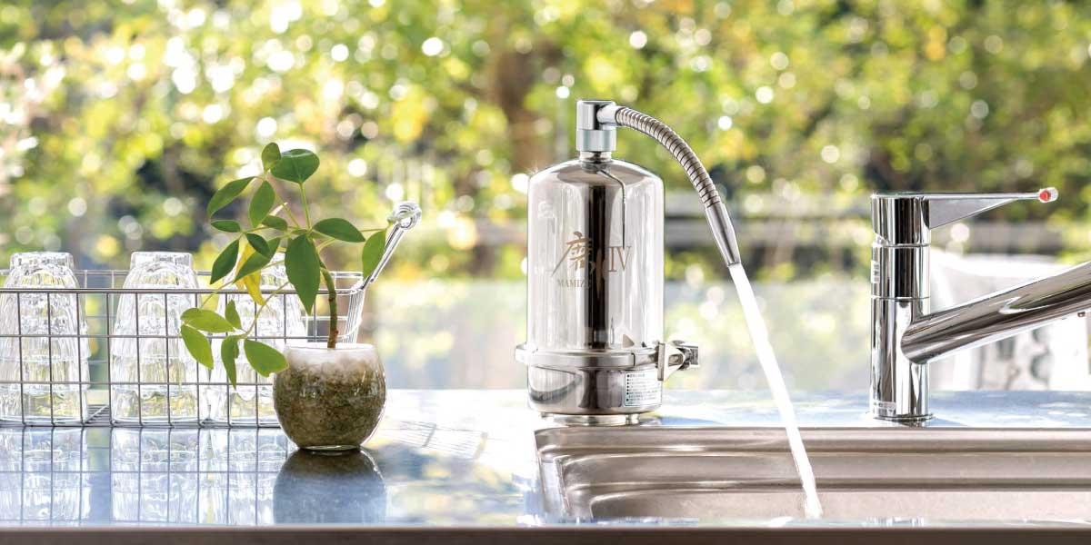 浄水器磨水Ⅳ使用例